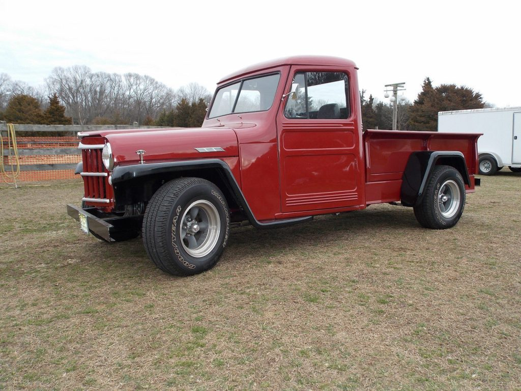 1962 Willys/Jeep Pickup Street Rod; 350 Chevy