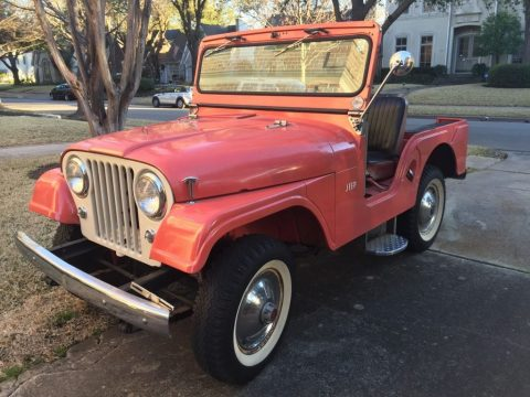 1963 Jeep CJ Tuxedo Park III for sale