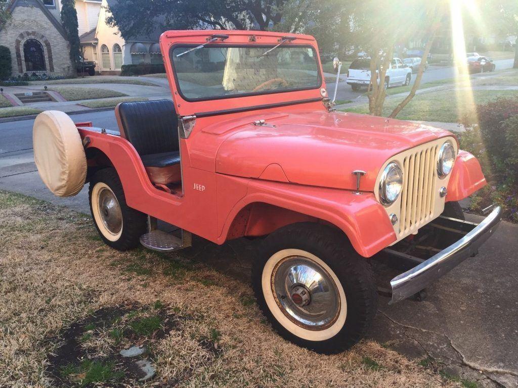 1963 Jeep CJ Tuxedo Park III