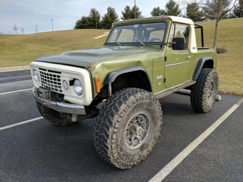 1972 Jeep Commando rock crawler – V8 for sale