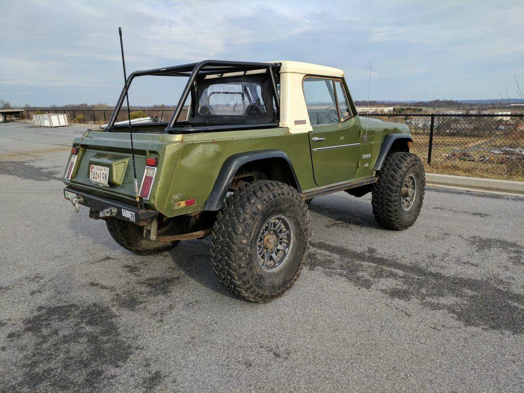 1972 Jeep Commando rock crawler – V8