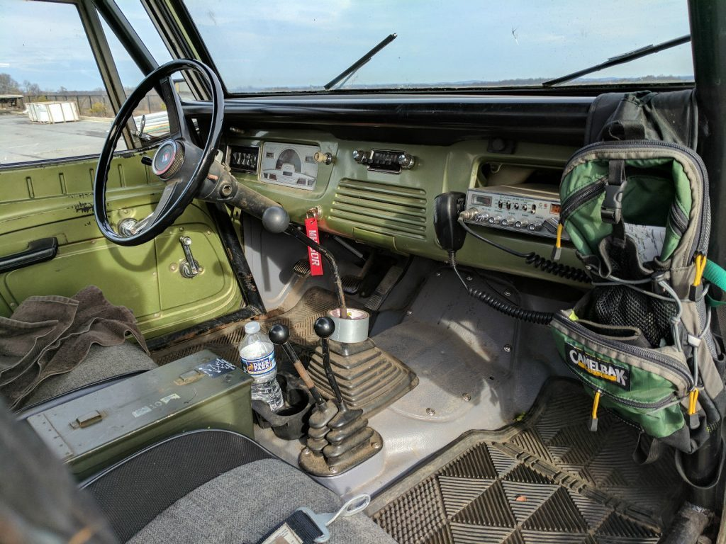 1972 Jeep Commando rock crawler – V8