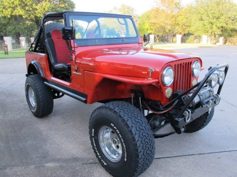 1982 Jeep CJ-7, Currie nápravy, 5,7l for sale