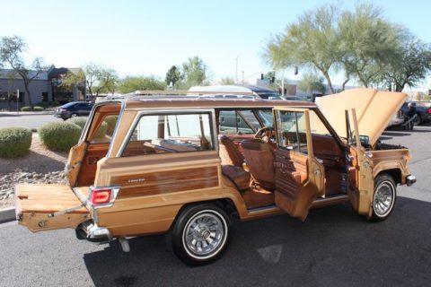 1983 Jeep Wagoneer Limited 4X4 117,820 Miles Topaz Gold 5.9L V8 for sale