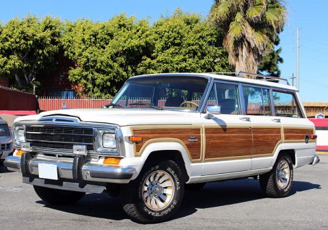 1986 Jeep Grand Wagoneer 5.9l for sale