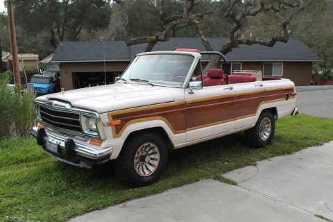 1986 Jeep Wagoneer Convertible for sale