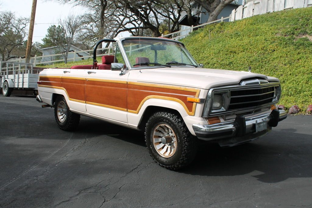 1986 Jeep Wagoneer Convertible