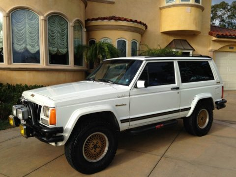1989 Jeep Cherokee XJ Limited Sport 2-Door 4.0L for sale