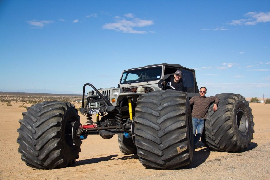 1989 Jeep Wrangler & insured Rock Crawler