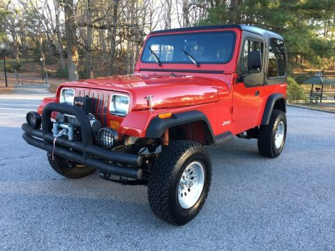 1993 Jeep Wrangler Sport YJ for sale