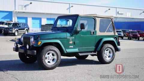 2001 Jeep Wrangler TJ SAHARA ONLY 46k mil for sale