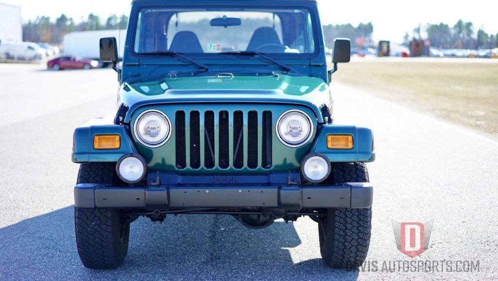 2001 Jeep Wrangler TJ SAHARA ONLY 46k mil