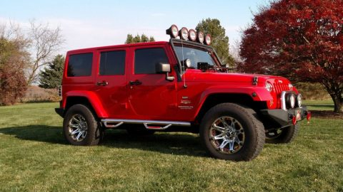 2012 Jeep Wrangler Unlimited Sahara Sport for sale