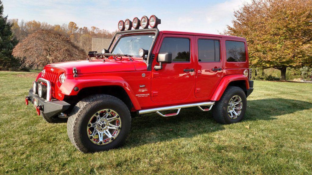 2012 Jeep Wrangler Unlimited Sahara Sport