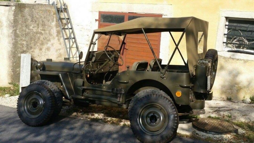 1945 Jeep Willys – Original WW II Vehiecle