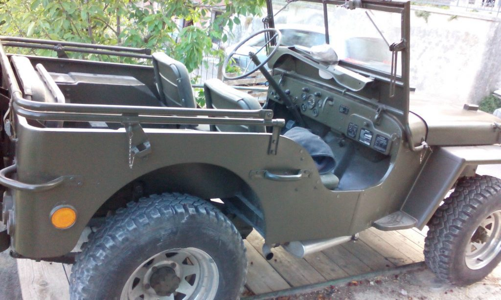 1945 Jeep Willys – Original WW II Vehiecle