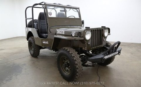 1948 Jeep Willys CJ2A 4×4 for sale