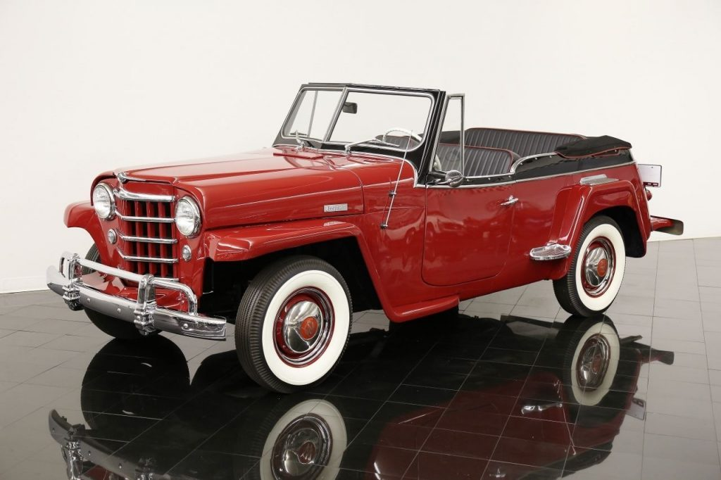 1950 Willys Jeepster Open Top