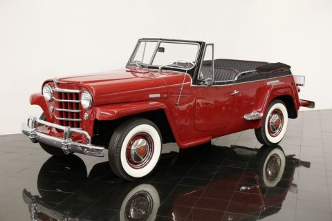 1950 Willys Jeepster Open Top for sale