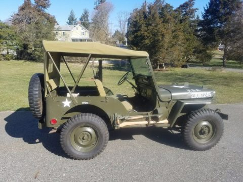 1952 Willys M38 Military Jeep for sale