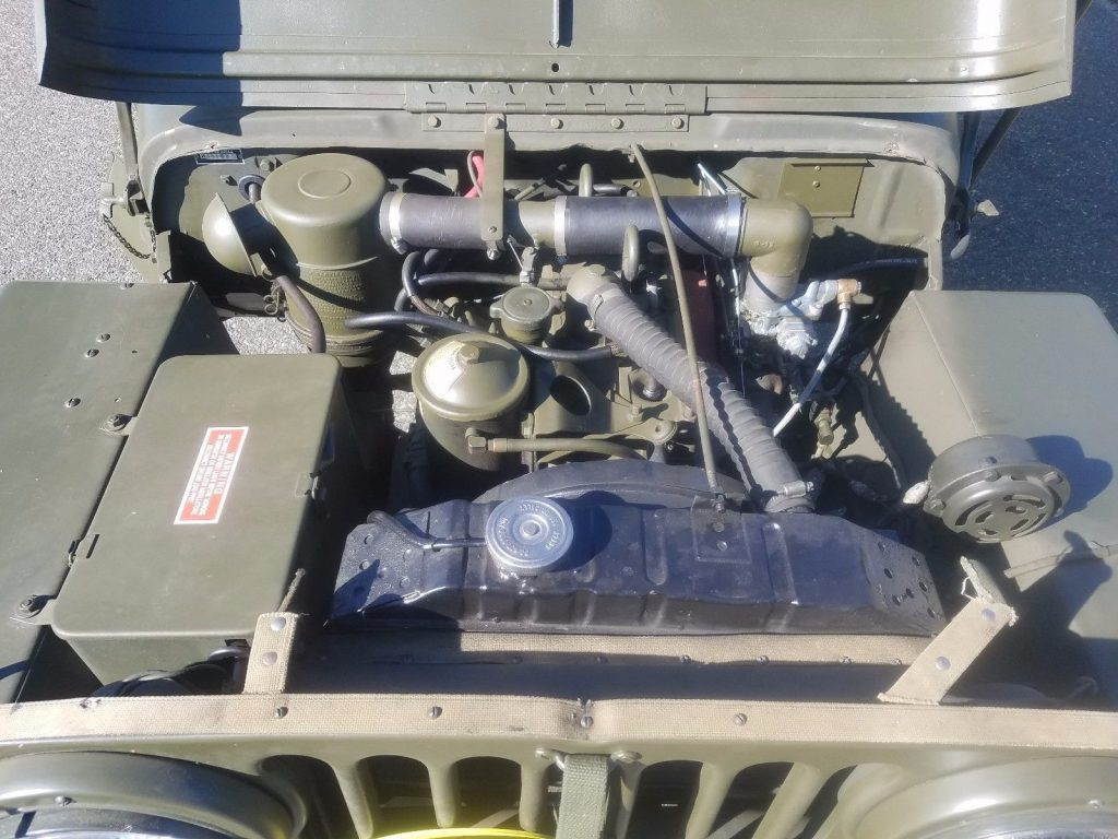 1952 Willys M38 Military Jeep
