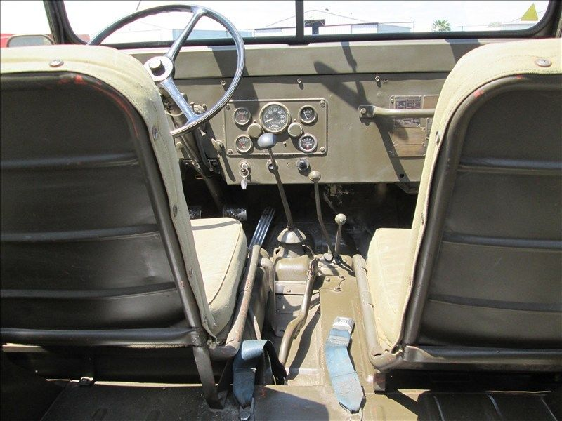 1954 Jeep Willys Jeep M38A1
