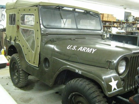 1954 Willy's M38A1 Military Jeep for sale