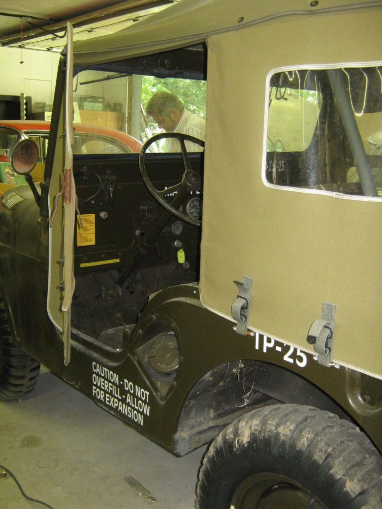1954 Willy's M38A1 Military Jeep