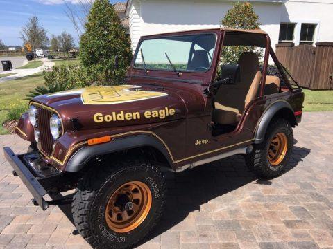 1977 Jeep CJ5 Golden Eagle V8 for sale