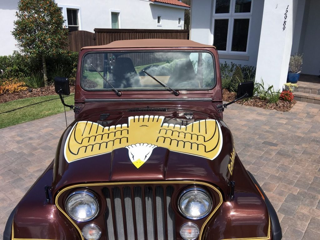 1977 Jeep CJ5 Golden Eagle V8
