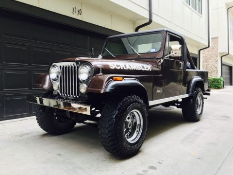 1981 Jeep CJ Scrambler for sale