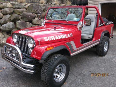 1982 Jeep CJ8 California Arizona SCRAMBLER in NY for sale