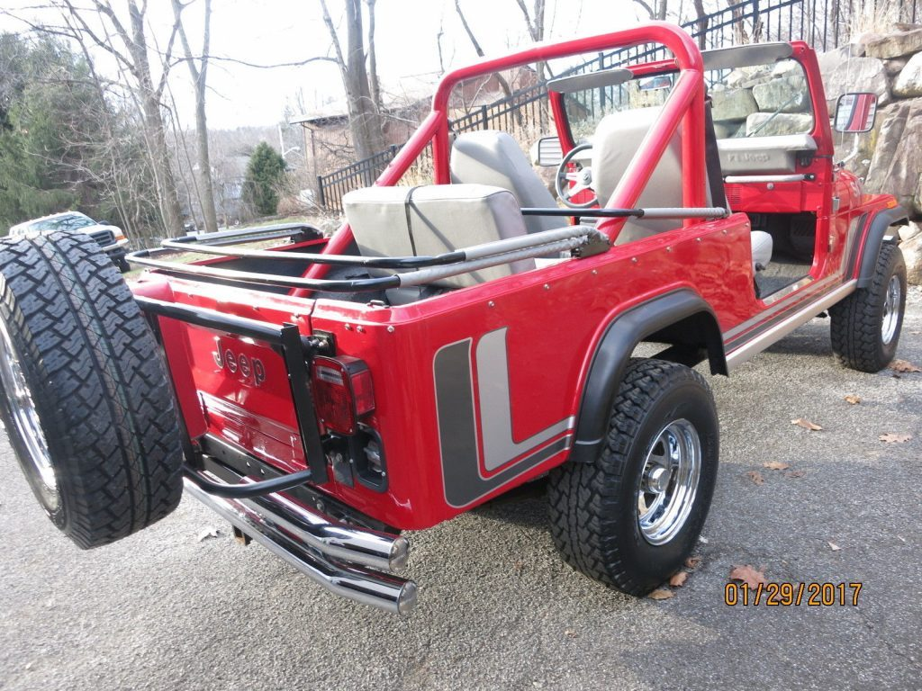 1982 Jeep CJ8 California Arizona SCRAMBLER in NY