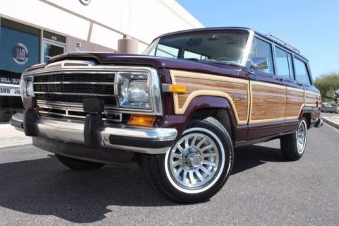 1989 Jeep Grand Wagoneer Limited 4X4 for sale