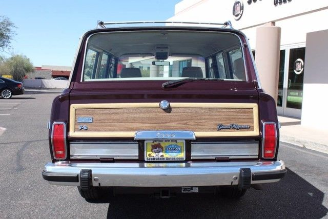 1989 Jeep Grand Wagoneer Limited 4X4