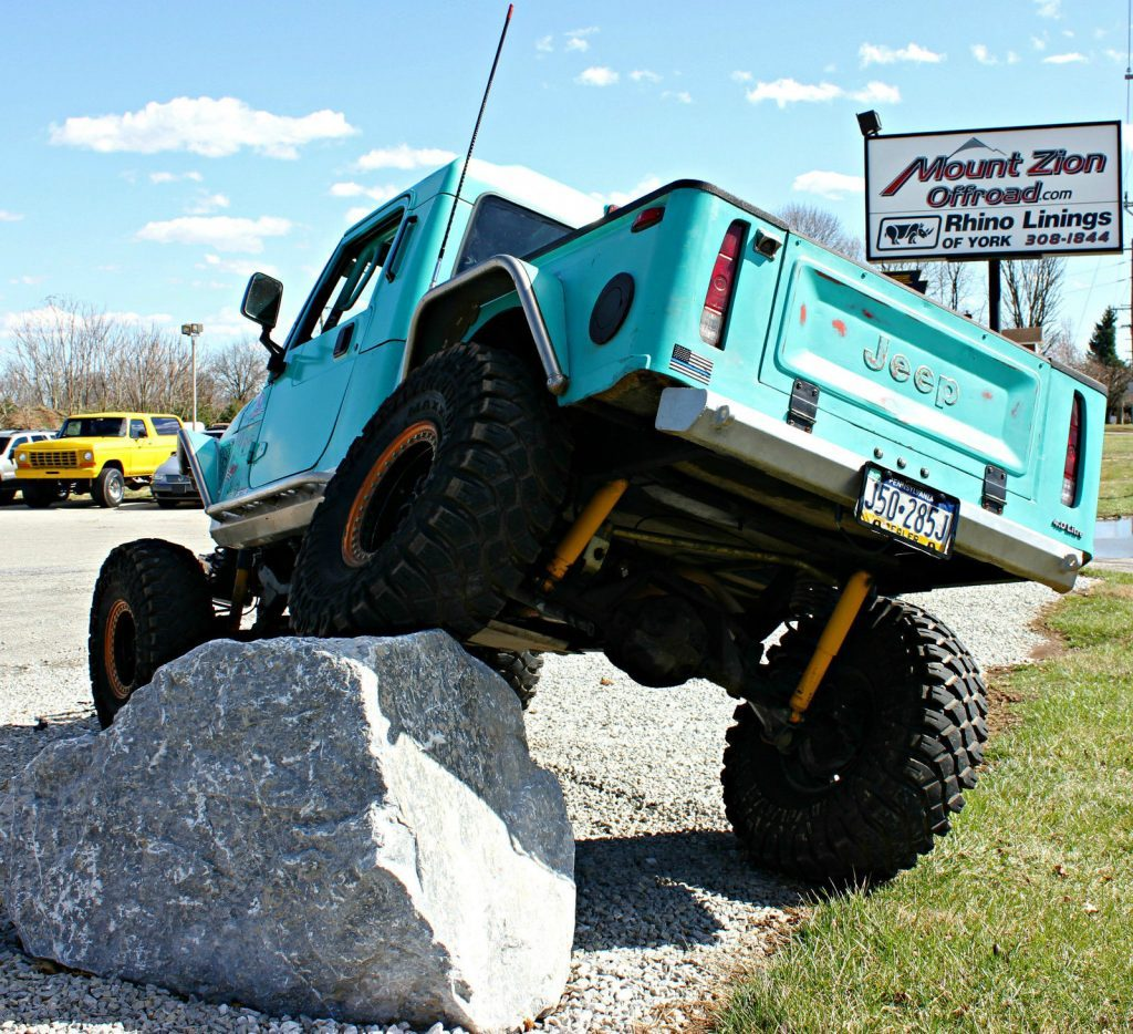 1997 Jeep Wrangler Brute Truck Offroad 4×4 Rock Crawler