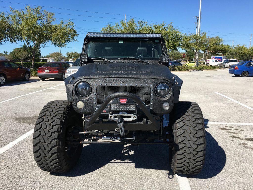 2012 Jeep Wrangler MW3 $150k+ Line X Kevlar Coated 40″ Tires
