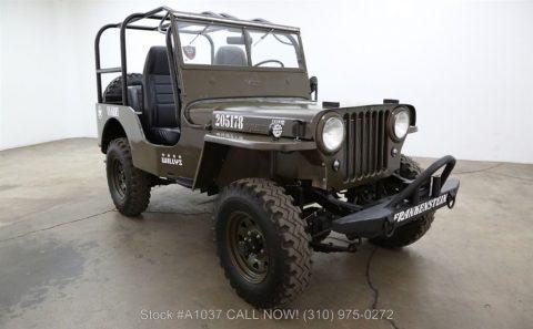 1948 Jeep Willys CJ2A 4×4 for sale