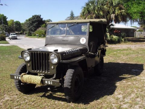 1948 Willys CJ2A Military for sale