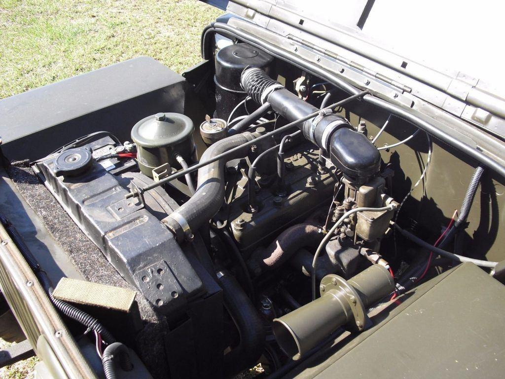 1948 Willys CJ2A Military
