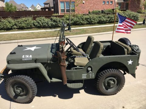 1948 Willys Jeep CJ 2A for sale