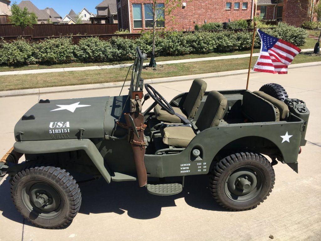 1948 willys jeep cj 2a for sale. Black Bedroom Furniture Sets. Home Design Ideas