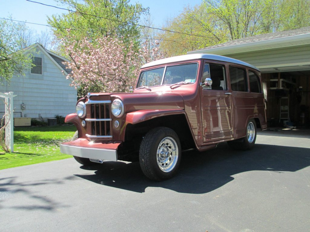 1950 Willys 473 wagon