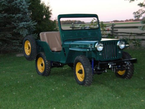 1950 Willys CJ3A for sale