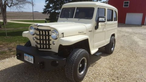 1951 Willys Wagon 5.3l engine for sale
