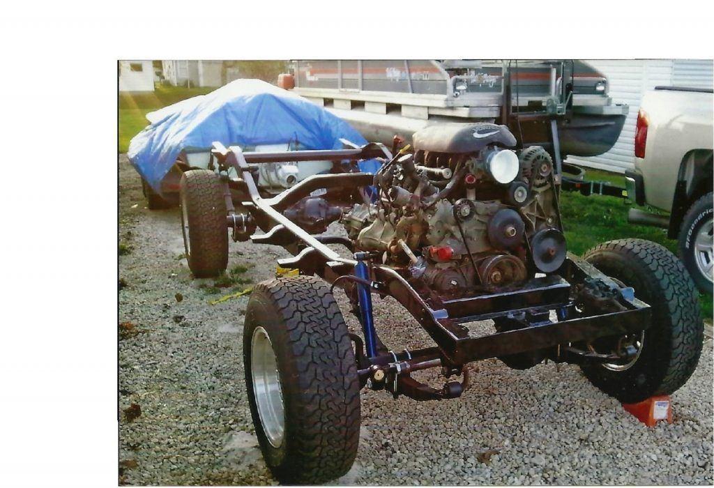 1951 Willys Wagon 5.3l engine