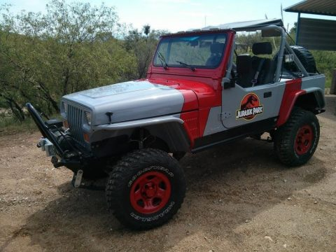 1989 Jeep Wrangler Jurassic Park Edition Rock Crawler YJ for sale