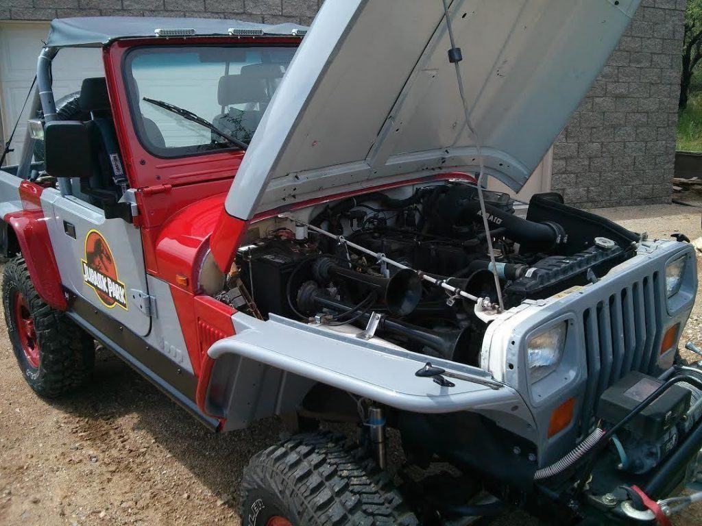 1989 Jeep Wrangler Jurassic Park Edition Rock Crawler YJ