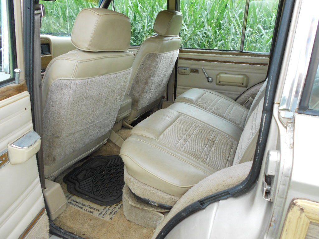 1990 Jeep Wagoneer Grand Wagoneer