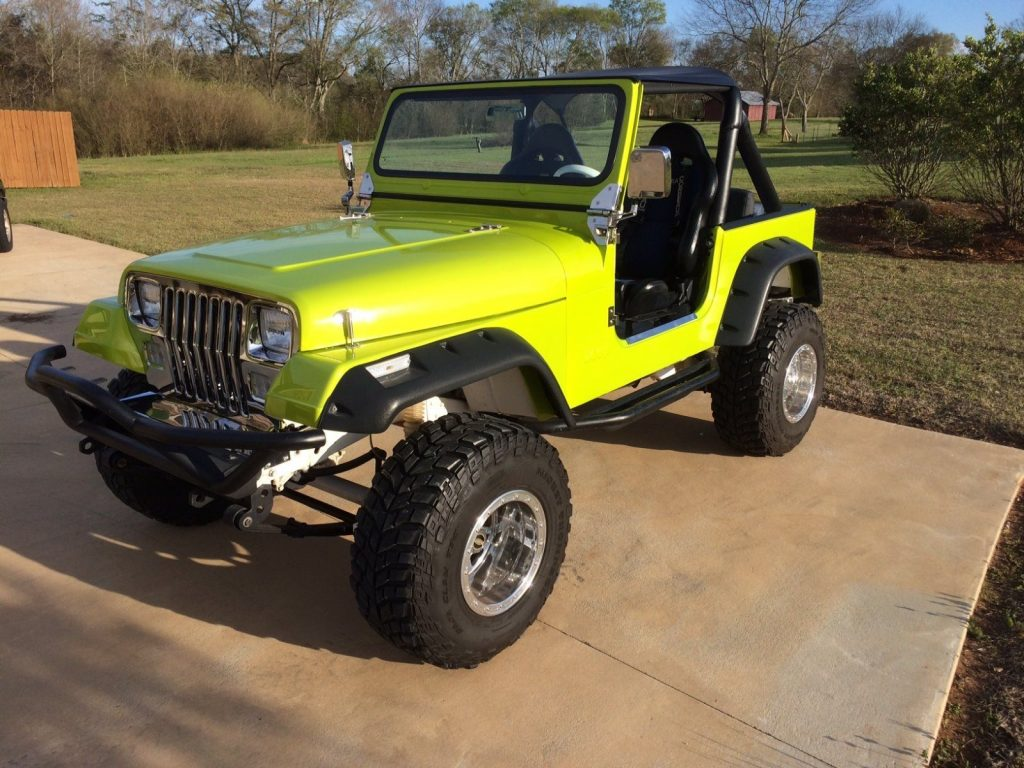 Grand Wagoneer 2017 >> 1990 Jeep Wrangler YJ Chrome Complete restoration for sale